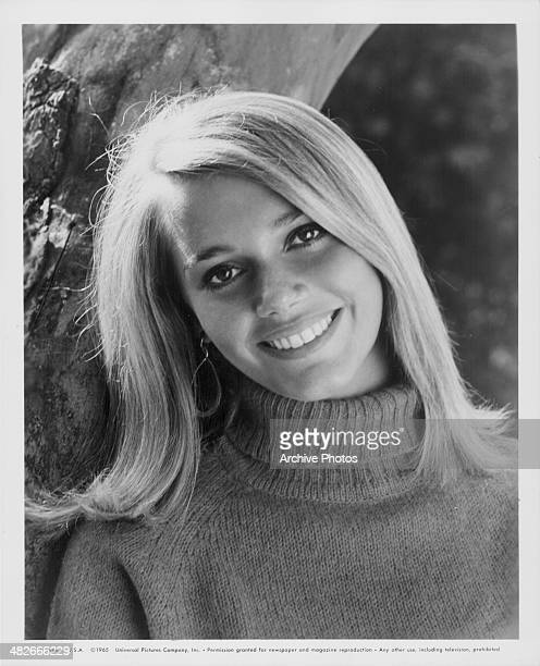 Promotional headshot of actress and model Peggy Lipton 1965