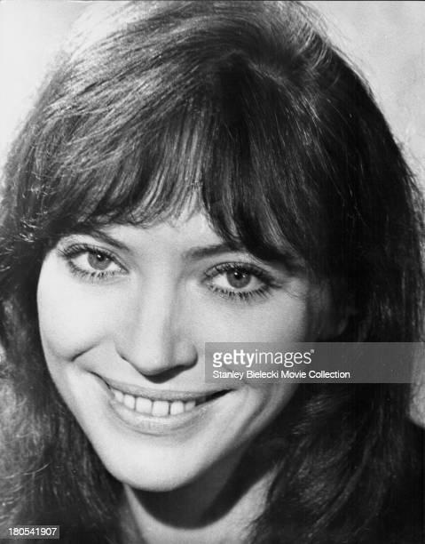Promotional headshot of actress Anna Karina as she appears in the movie 'The Salzburg Connection' 1972