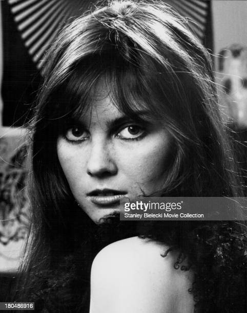 Promotional headshot of actress Caroline Munro circa 19701980
