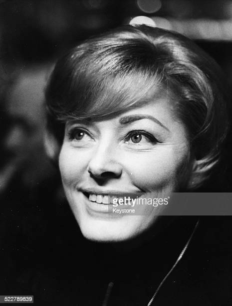 Promotional headshot of actress Eleanor Parker in Rome filming 'The Tiger' Italy January 1967