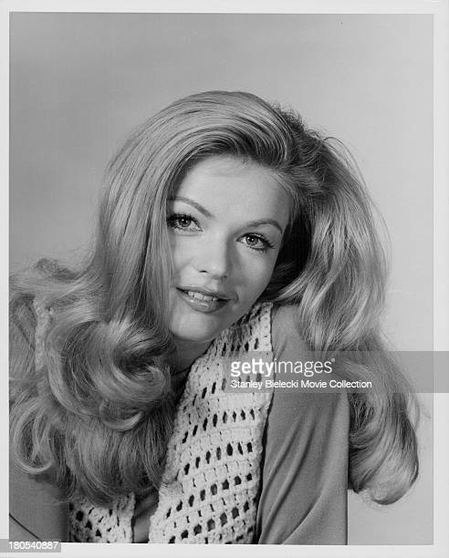 Promotional headshot of actress Karen Jensen as she appears in the movie 'The Salzburg Connection' 1972
