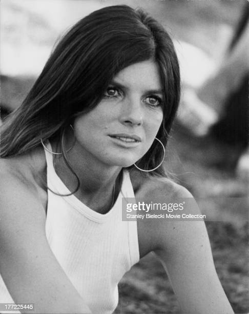 Promotional headshot of actress Katharine Ross as she appears in the movie 'They Only Kill Their Masters' 1972