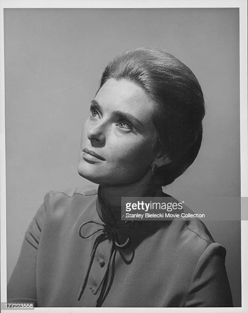 Promotional headshot of actress Natalie Trundy as she appears in the movie 'Conquest of the Planet of the Apes' 1972