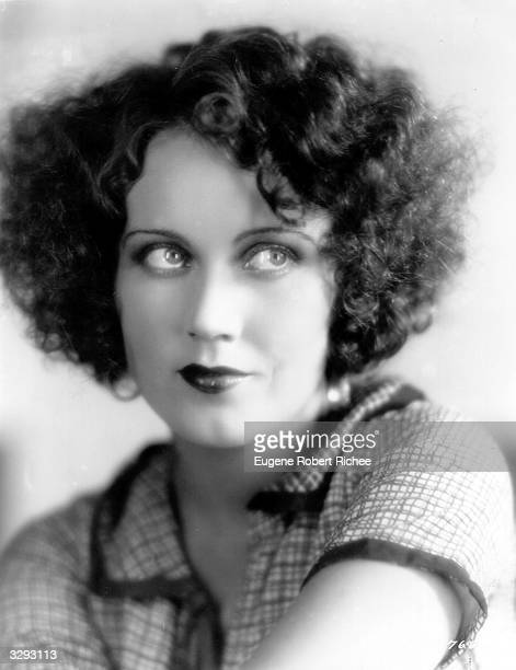 Promotional headshot of Canadianborn actor Fay Wray as she appears in the film 'Behind the Makeup' directed by Robert Milton 1930