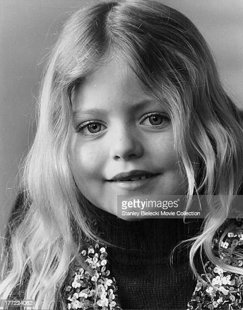 A promotional headshot or actress Patsy Kensit as she appears in the movie 'The Blue Bird' 1976