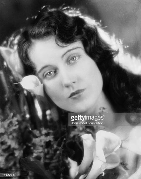 Promotional headshot portrait of Canadianborn actor Fay Wray as a brunette 1930s