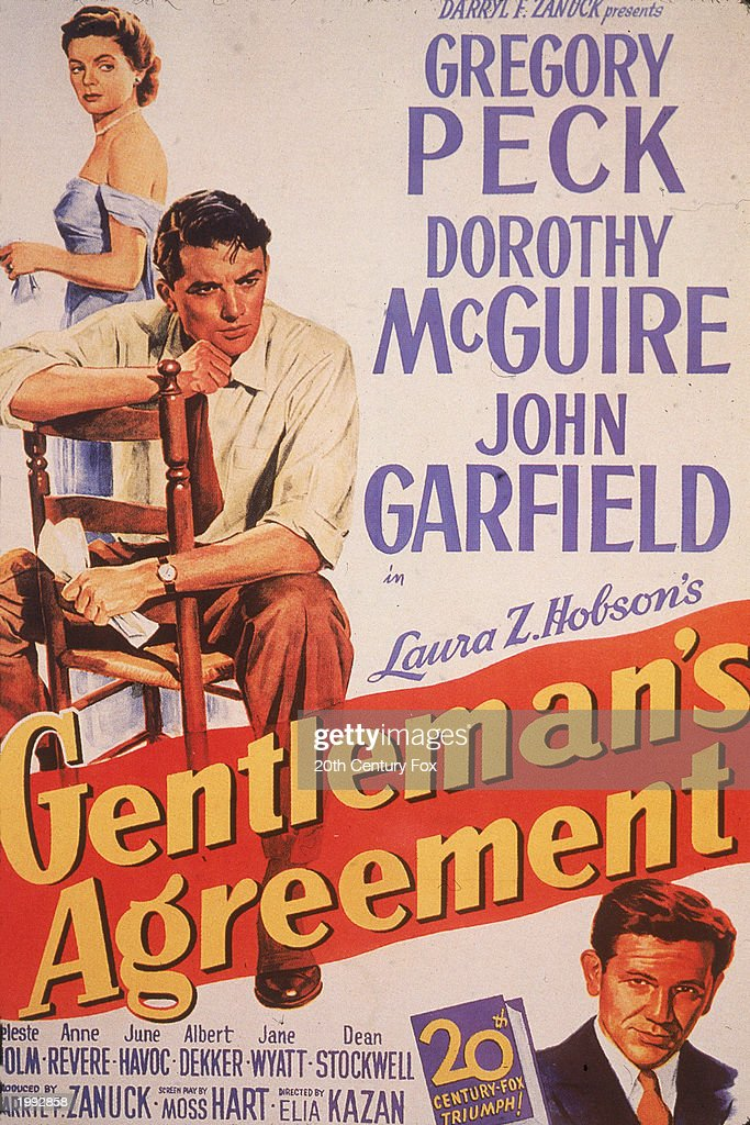 Promotional Movie Poster For The Film Gentleman S Agreement News Photo Getty Images