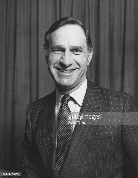 Promotional portrait of actor Geoffrey Palmer for the television show 'The Last Song' January 1983 First Printed in Radio Times issue 3092 page 19...