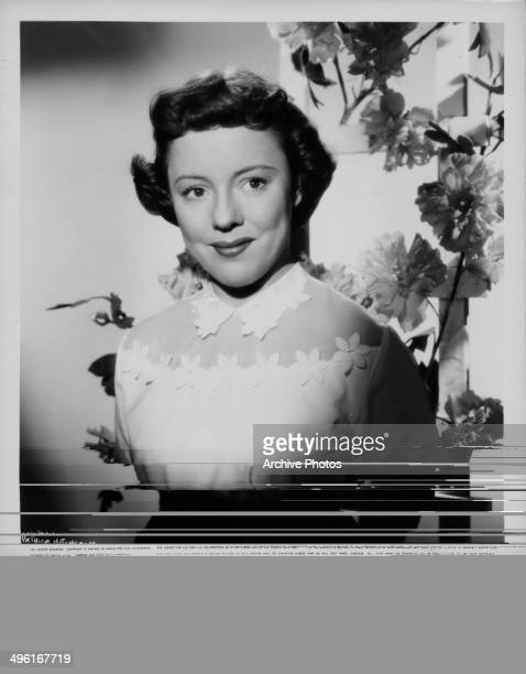 Promotional portrait of actress Patricia Hitchcock daughter of director Alfred Hitchcock 1957