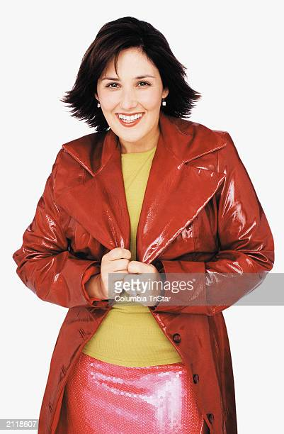 Promotional portrait of American actor and talk show host Ricki Lake for her syndicated TV program, 'Ricki Lake,' 2000.