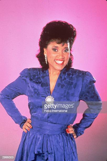 Promotional portrait of American actor Jackee Harry from the television series '227' circa 1985