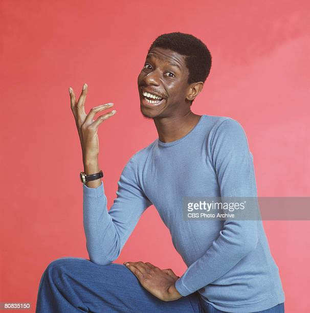 Promotional portrait of American actor Jimmie Walker on the television show 'Good Times,' Los Angeles, California, mid to late 1970s.