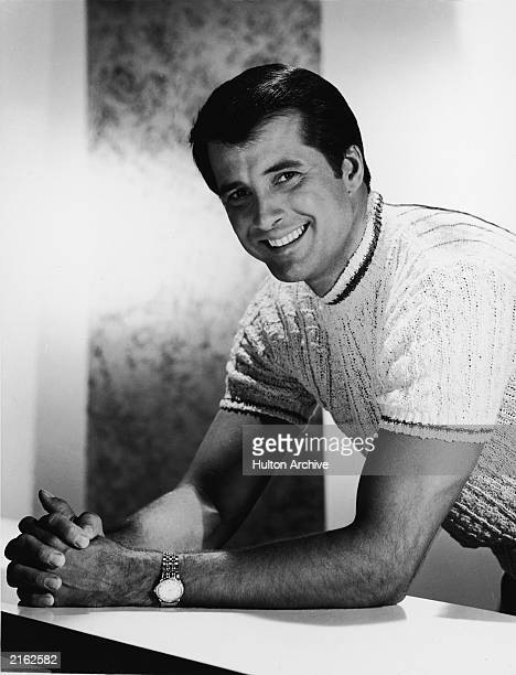 Promotional portrait of American actor Lyle Waggoner circa 1969