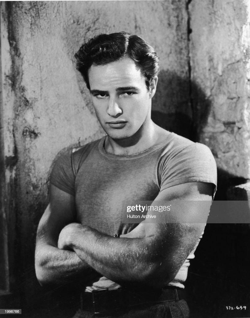 Portrait Of Marlon Brando : News Photo