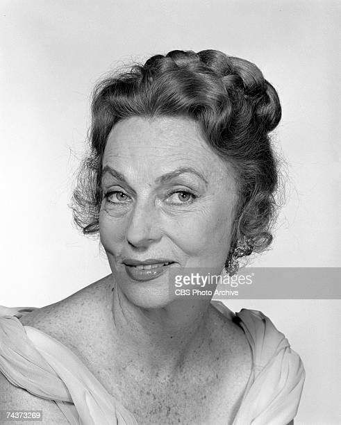 Promotional portrait of American actress Agnes Moorehead in 'Poor Mr Campbell' May 1962