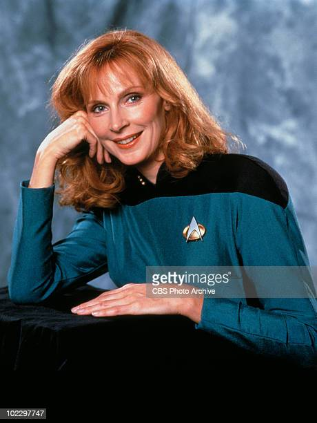 Promotional portrait of American actress Gates McFadden in 'Star Trek The Next Generation' California 1987