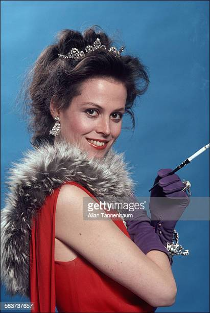 Promotional portrait of American actress Sigourney Weaver in play 'Das Lusitania Songspiel' New York New York March 1981