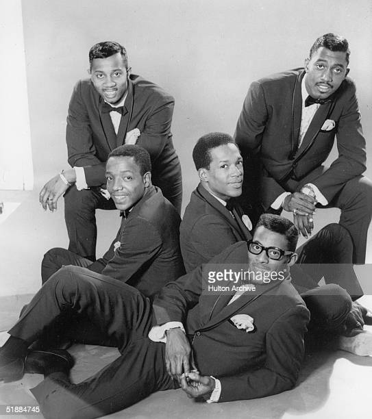 Promotional portrait of the America R&B group the Temptations, mid 1960s. From left, Melvin Franklin , Paul Williams , Eddie Kendricks , David Ruffin...