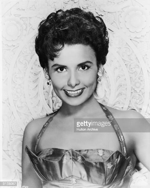 Promotional portrait of American singer and actor Lena Horne, 1950s.