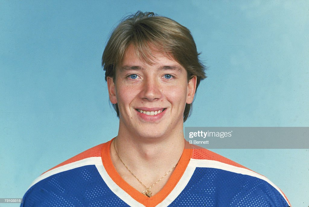 Portrait Of Jari Kurri : News Photo