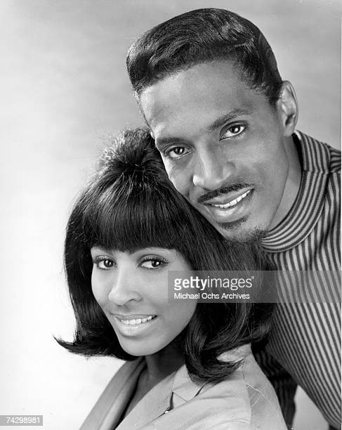 Promotional portrait of Husband-and-wife R&B duo, Ike & Tina Turner.