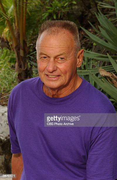 Promotional portrait of Rudi Boesch one of the 18 castmembers participating in 'Survivor AllStars' Contadora Island Pearl Islands Panama November 2...