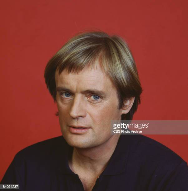 Promotional portrait of Scottish television actor David McCallum as Ilya Kuryakin in the madefortv movie 'The Return of the Man from UNCLE The...