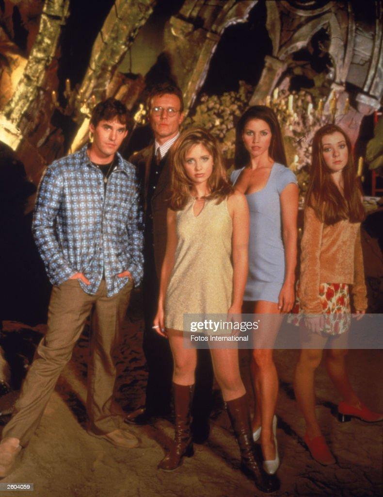Cast of 'Buffy The Vampire Slayer' : Nachrichtenfoto