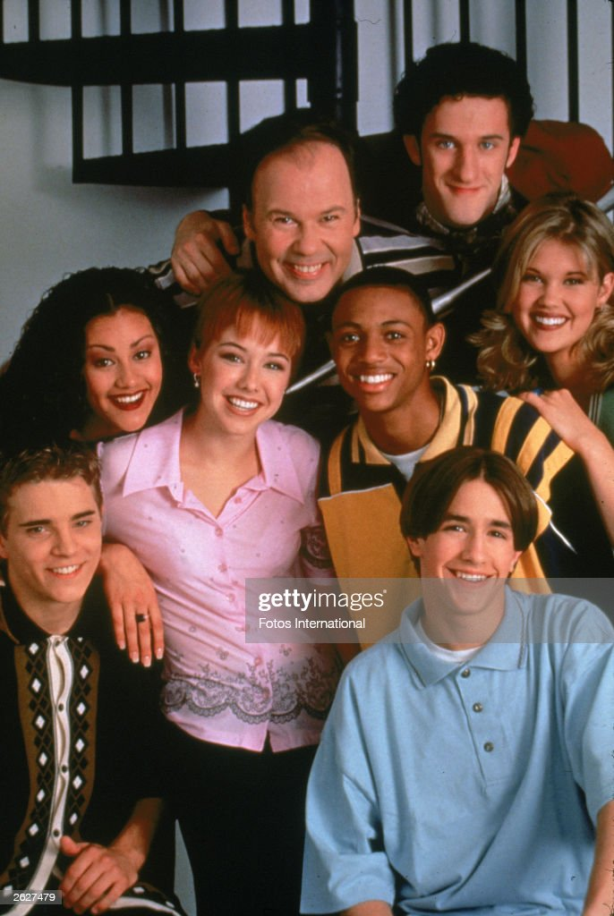Portrait Of 'Saved By The Bell' Cast  : News Photo