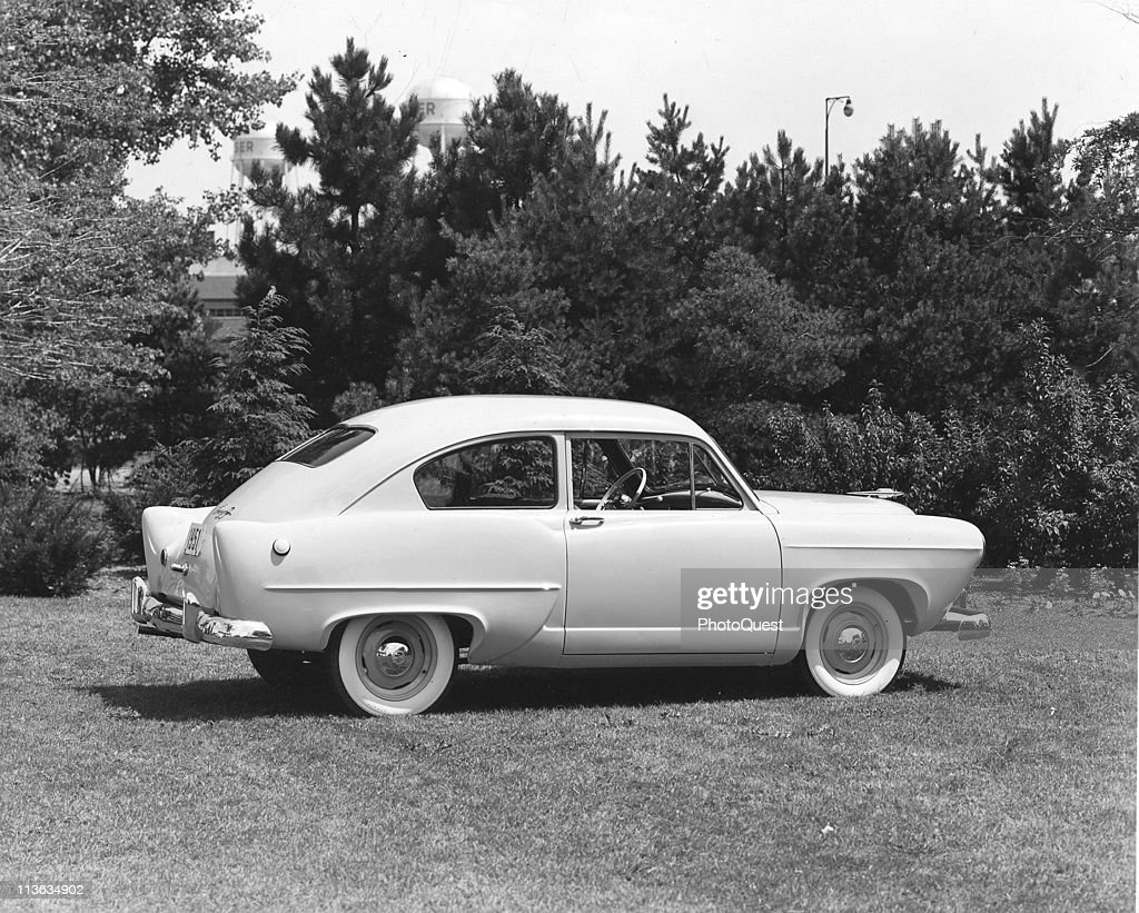 Kaiser-Frazer Henry J. Sedan : News Photo