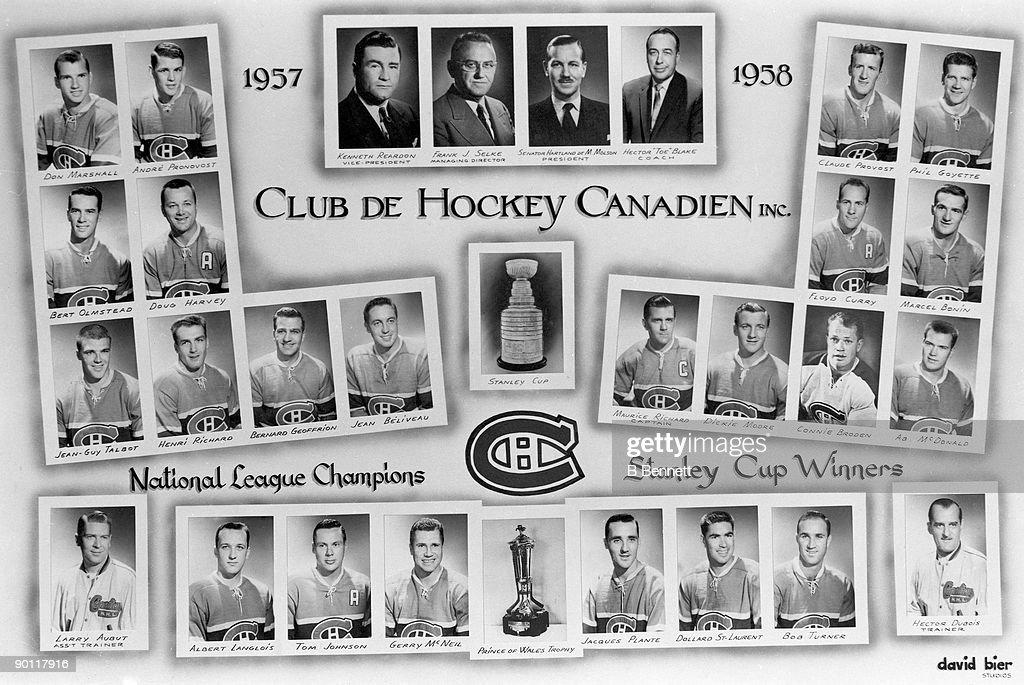 Montreal Canadiens Team Photo : News Photo