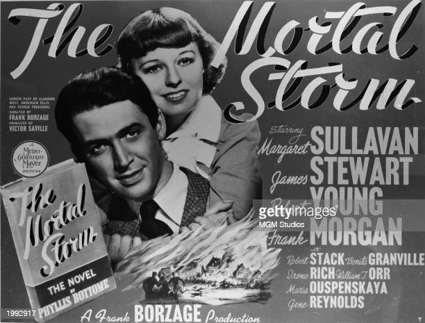 Promotional poster for the film 'The Mortal Storm' directed by Frank Borzage and starring Margaret Sullavan James Stewart Robert Young and Frank...