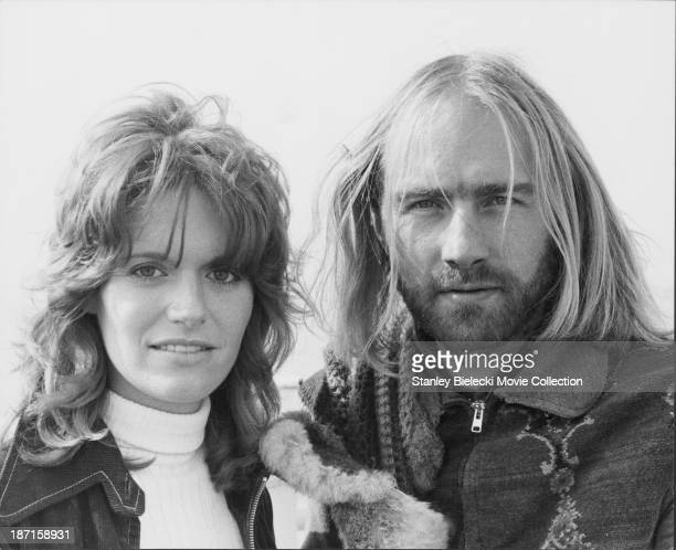 Promotional shot of actors Carol White and Roy Harper as they appear in the film 'Made' 1972