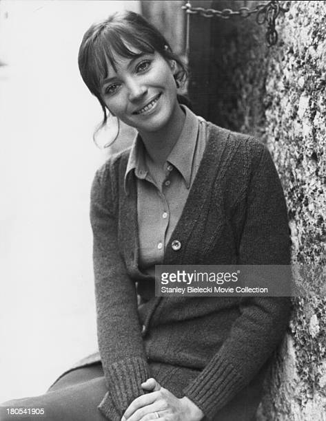 Promotional shot of actress Anna Karina as she appears in the movie 'The Salzburg Connection' 1972