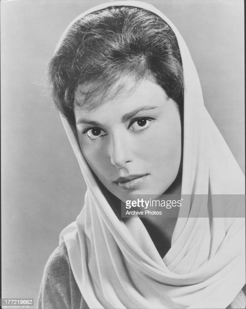 Promotional Shot of actress Haya Harareet as she appears in the movie 'Ben Hur' 1959