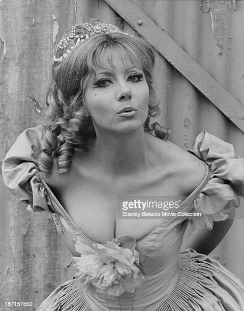 Promotional shot of actress Ingrid Pitt as she appears in the film 'The Vampire Lovers' 1970
