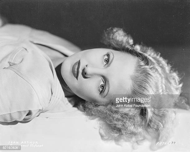 Promotional shot of actress Jean Arthur for Paramount Pictures 1937