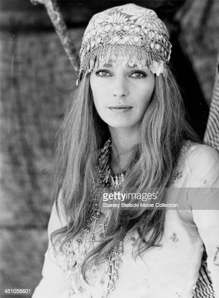 Promotional shot of actress Jennifer O'Neill as she appears in the movie 'Caravans' 1978