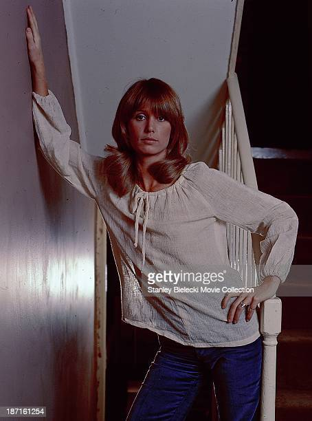 Promotional shot of actress Jill Townsend as she appears in the film 'Sitting Target' 1972