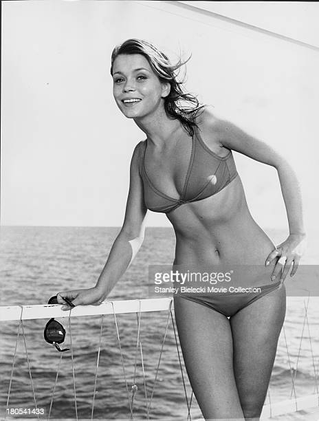 Promotional shot of actress Neda Arneric as she appears in the movie 'Shaft in Africa' 1973
