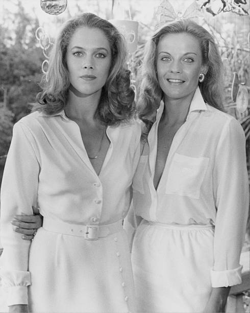 Promotional shot of actresses Kathleen Turner and Kim Zimmer as they appear in the movie 'Body Heat' 1981