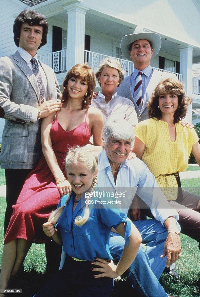 The Ewing Family In Dallas News Photo