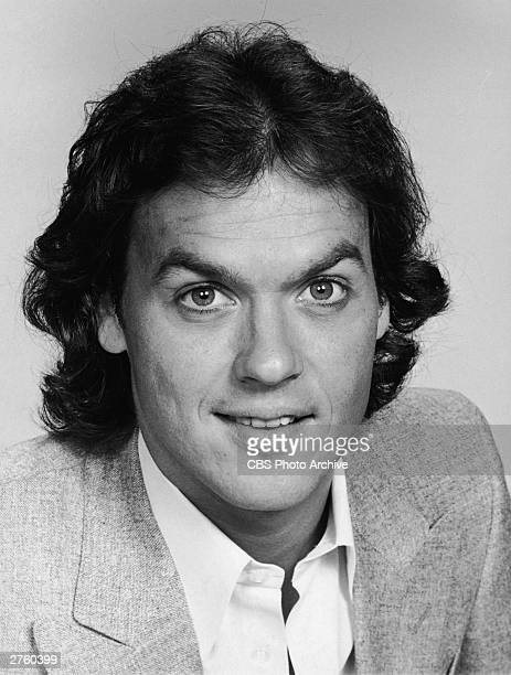 Promotional studio portrait of American actor Michael Keaton for the television series 'Working Stiffs' 1979