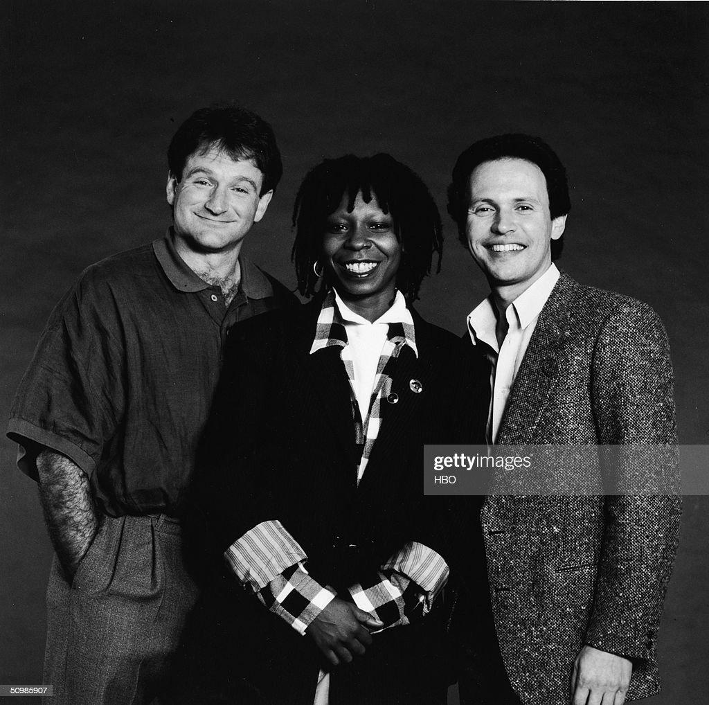 Robin Williams, Whoopi Goldberg & Billy Crystal : News Photo