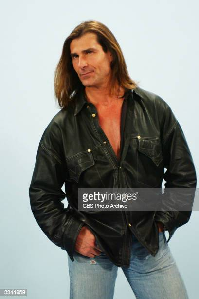 Promotional studio portrait of Fabio for a guest appearance on the TV series 'Yes Dear' 2004