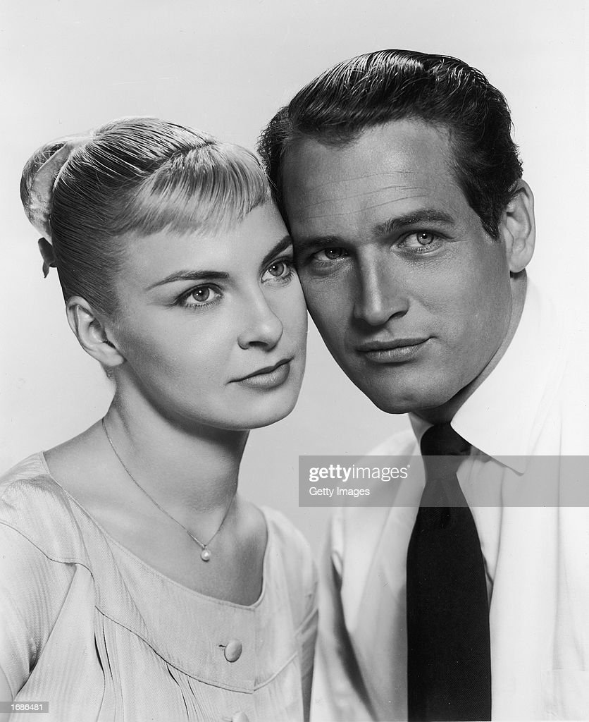 Portrait of Paul Newman And Joanne Woodward, c. 1960.  : News Photo