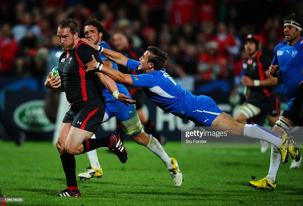 Wales v Namibia - IRB RWC 2011 Match 29