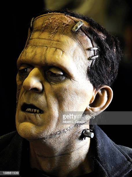 Prop of Frankenstein's monster at Son Of Monsterpalooza held at Burbank Marriott Airport Hotel & Convention Center on October 27, 2012 in Burbank,...