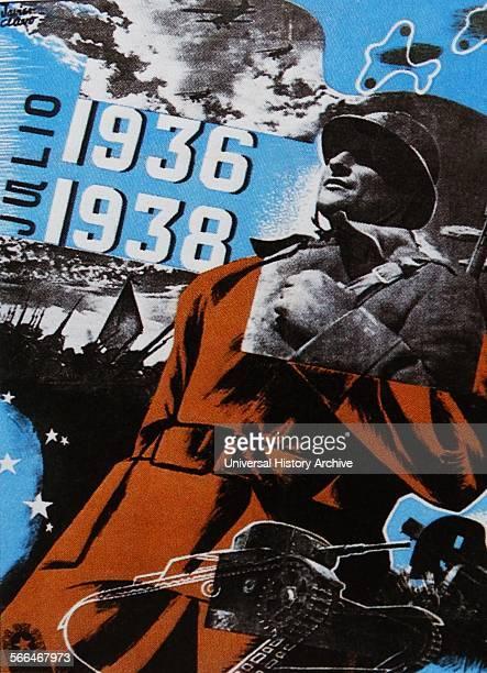 Propaganda poster during the Spanish Civil War