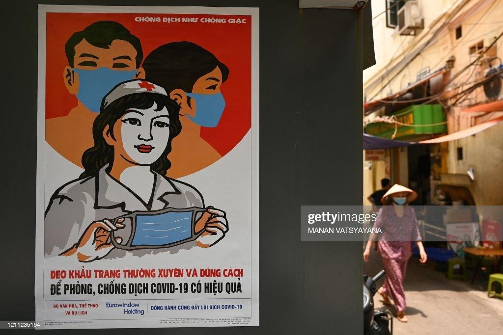 VIETNAM-HEALTH-VIRUS-ART : News Photo